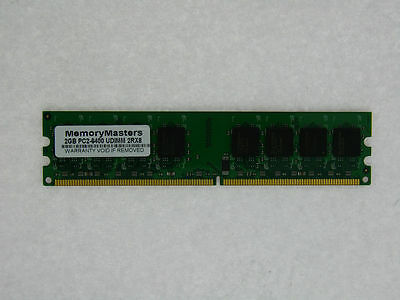 PARTS-QUICK Brand ECS A780GM-M3 Motherboard DDR2 PC2-6400 800MHz DIMM Non-ECC RAM Upgrade 2GB Memory for EliteGroup