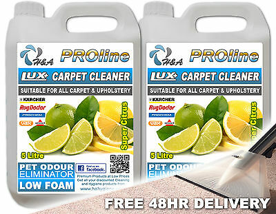 Professional carpet cleaning solution shampoo Cleaner & pet odour remover Citrus