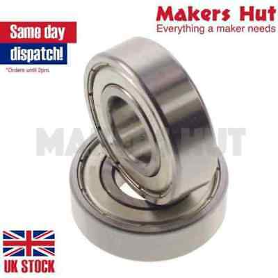 693ZZ 3X8X4 Miniature Deep Groove Ball Bearing Double Shielded ZZ
