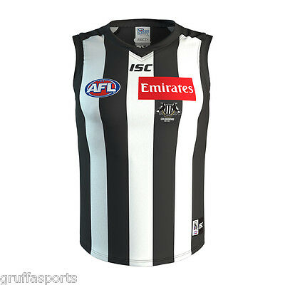 Collingwood Magpies 2017 Home Guernsey Mens,Womens & Kids Sizes Available AFL