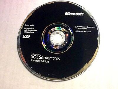 Original Microsoft SQL Server 2005 (With Processor License and Product Key!!!)