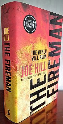 The Fireman by Joe Hill (Signed, First Edition, First Printing)