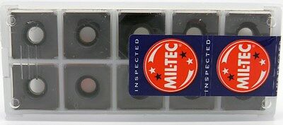 10pc S-PS-032-5-2-TA Mil-Tec Square Milling Inserts for Freedom Cutter TiALN
