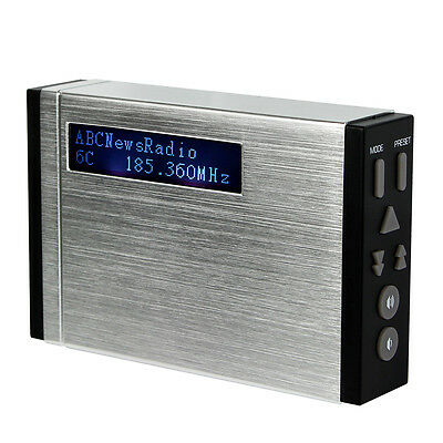 Digital Portable DAB/FM Radio Pocket Size DAB Receiver with LCD Display Best Top