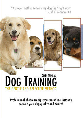 Dog Training Dvd Video for Dogs & Puppy by Certified Canine Expert New DVD