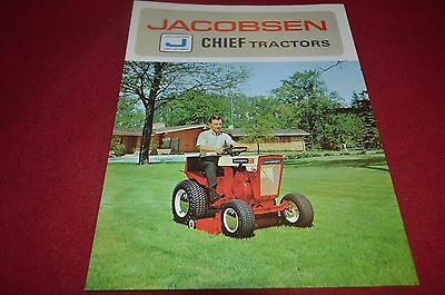 Jacobsen Chief Lawn & Garden Tractors Dealer's Brochure YABE10
