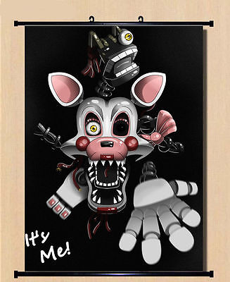 Anime Game Five Nights at Freddy's Cool Home Decor Poster Wall Scroll Gift #TS01