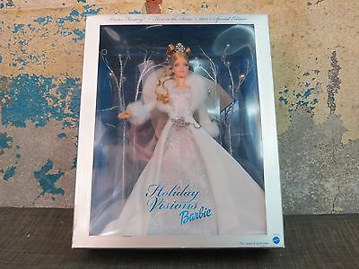2003 Holiday Visions Winter Fantasy Barbie Doll First in Series, Silver