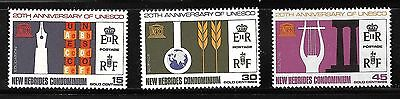 New Hebrides Sc#120-2 MNH  20th Anniversary of ENESCO