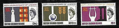 Solomon Islands Sc#171-3 MNH  20th Anniversary of ENESCO