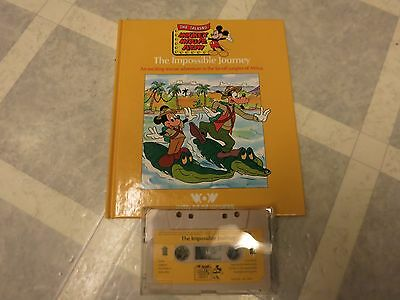 Mickey Mouse -The Impossible Journey - Book and Tape