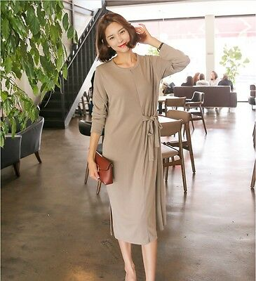 [Soim] New Maternity Breastfeeding Nursing Baby Mum Dress Clothes Outfit Casual