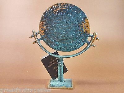 PHAISTOS DISK Museum Replica Minoan Palace ☆ FREE SHIPPING+ Tracking Number