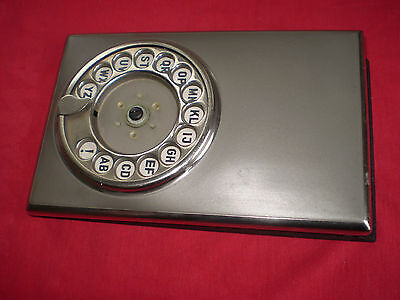 Vintage Phone Organizer Book with Rotery Dial