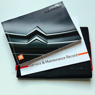 CITROEN C5 SERVICE BOOK HANDBOOK & WALLET PACK 2007 To 2011