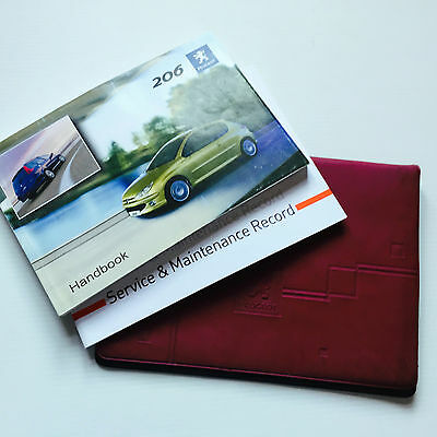 PEUGEOT 206 AND SW ESTATE SERVICE BOOK HANDBOOK & WALLET PACK - 2004 To 2008