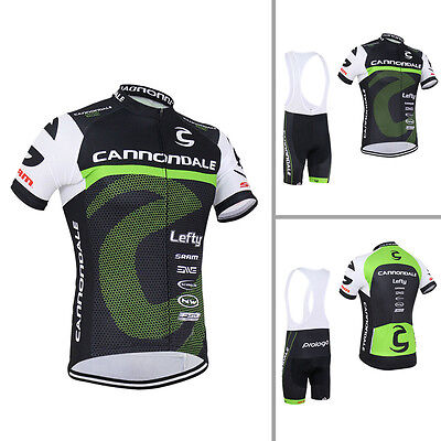 Mens Team Cycling Short Sleeve Jersey Shirt Bib Shorts Kits Bike Race Outfits