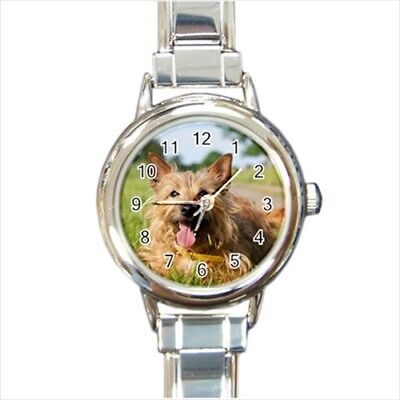 Australian Terrier Italian Charm Watch (Battery Included)