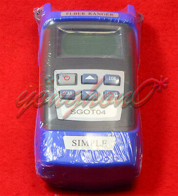 NEW Optical Fiber Ranger OTDR Principle Tester Meter Simple 1310/1550nm