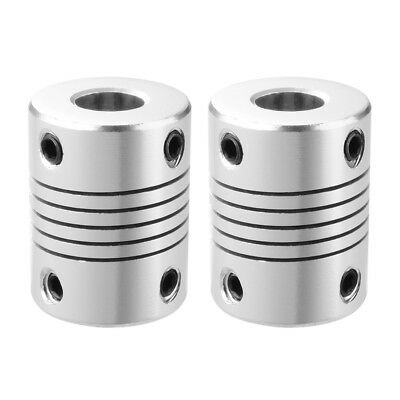 2pcs 5x8mm Motor Shaft Coupler Ideal for 3D Printer Shafts Reprap CNC TE490