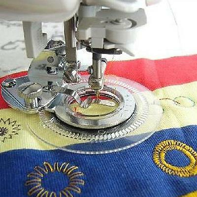 1pc Durable Flower Stitch Circular Embroidery Foot for Home Craft Sewing Machine
