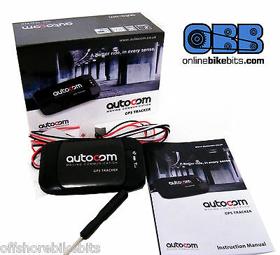 Autocom GPS Motorcycle Tracker - Advanced tracking options - NO SUBSCRIPTION!!