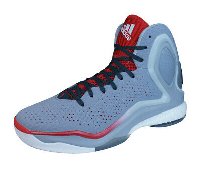f2aea282165c ADIDAS D ROSE 5 Boost Mens Basketball Sneakers High Top Shoes - Grey ...