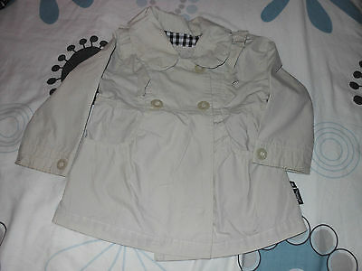 Pretty Baby K Trench Coat In Size 2-3 Years Hardly Worn