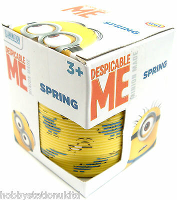 Minions Spring Spring Slinky Children's Despicable Me Minion Slinky Spring 8cm