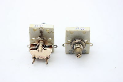 AIR VARIABLE CAPACITOR 1 X 35 pF NOS (NEW OLD STOCK) 1PC. CA86U15F081116