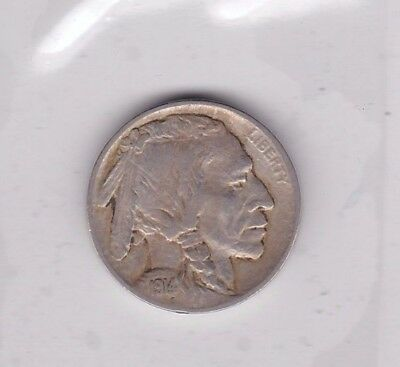 Usa 1914 Five Cents In A Near Very Fine Condition