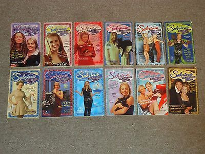 Lot 12 Sabrina the Teenage Witch Books Down Under Goes to Rome TV Series
