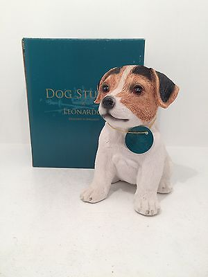 Dog Studies by Leonardo Puppy Love Jack Russell Terrier Figurine Ornament