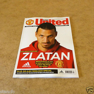 Inside United #294 Dec 2016 Zlatan Ibrahimovic Interview Sir Alex Special