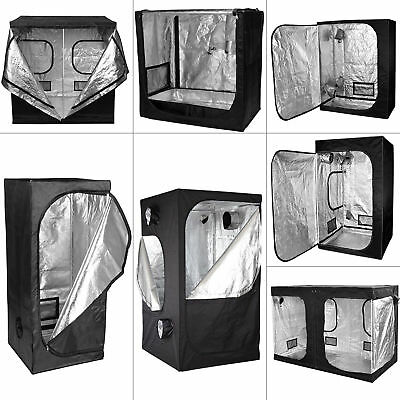 Indoor Portable Senua Hydroponics Grow Tent Indoor Dark Room 600d Mylar