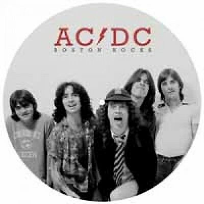"""AC/DC """"Boston Rocks - The New England Broadcast 1978"""" Picture Disk Vinyl"""