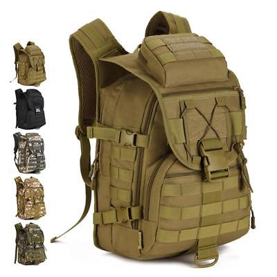 40L Outdoor Hiking Camping Travel Molle System Luggage Rucksack Laptop Backpack