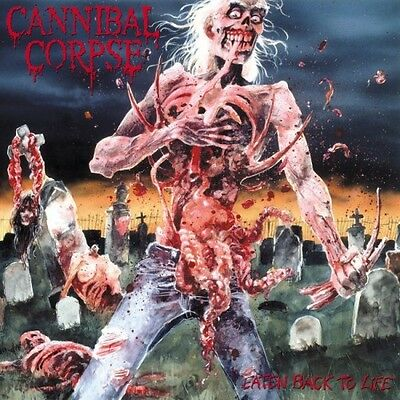 "Cannibal Corpse ""Eaten Back To Life"" Vinyl - NEW"