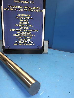 "1045 Precision Shaft Steel Round Bar 1"" Dia x 12""-Long T G&P"