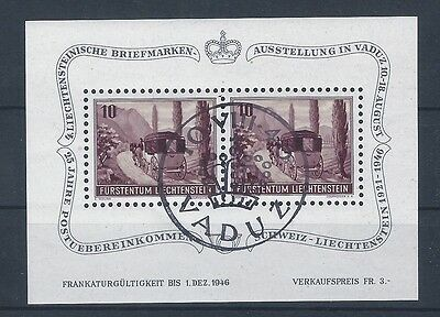 Liechtenstein 1946 Mi. Block 4