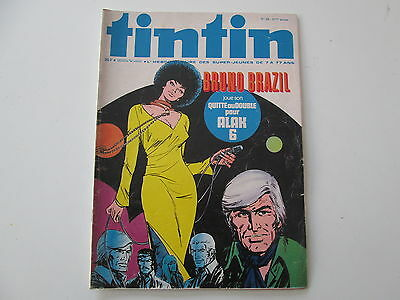 Journal De Tintin N°28  Tbe 31Eme Annee Couverture Bruno Brazil