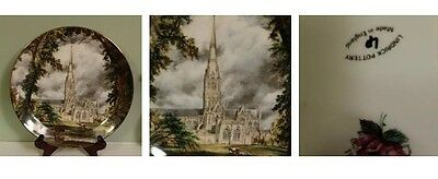 John Constable  - Salisbury Cathedral  English Fine China Plate