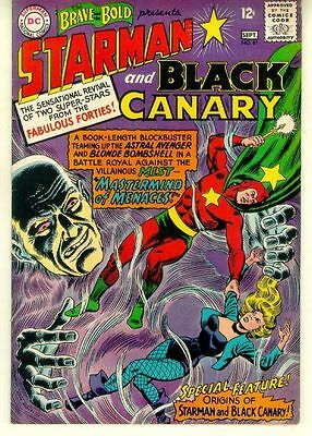 Brave and the Bold #61 (1965) ~ STARMAN and BLACK CANARY!
