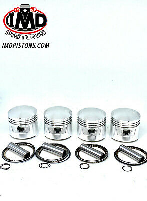 HONDA CB 750 K Series SOHC PISTON KITS (4) NEW +0.5mm  392/410 HIGH COMPRESSION