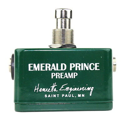 Henretta Engineering Emerald Prince Preamp - Authorised UK dealer