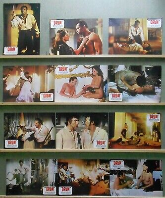 XD83D DRUM KEN NORTON JAMES MASON ISELA VEGA PAM GRIER OATES Lobby Set Spain