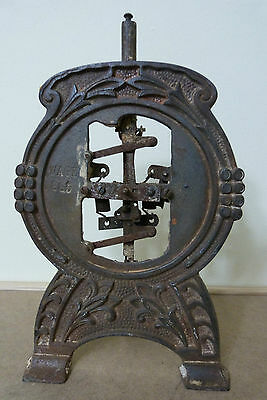 Antique 1890's Victorian Cast Iron Household Wage Scale body
