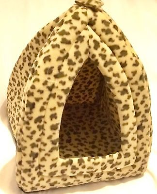 New leopard print Cat Pyramid 33cm X 33cm
