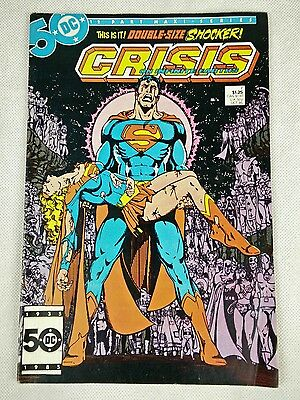 Crisis On Infinite Earths 7 - Death Of Supergirl (Modern Age 1985)