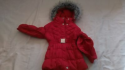 Special Needs Girls Winter Coat Red size 5